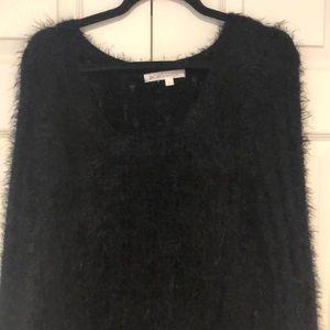 BCBG fuzz sweater